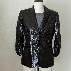 Calvin Klein Full Sequin Blazer